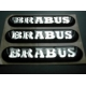 smart car BRABUS Badge / Decal Set (set of 3)
