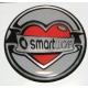 "smart car Badge / Decal - ""Love"" smartware"
