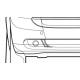smart car Bumper Cap
