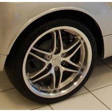 "smart car BRABUS 15/17"" Monoblock VII alloy wheel and tire set"