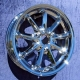 smart car Chrome Wheels - Genuine smart (set of 4)
